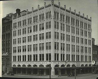 Spokane Daily Chronicle - The Chronicle Building in 1934, home to the Spokane Daily Chronicle until its closure in 1992
