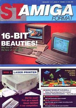 ST/Amiga Format - Image: Staf 01