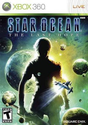Star Ocean: The Last Hope - Box art of the North American Xbox 360 release