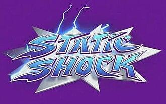 Static Shock - Image: Static Shock (TV logo)