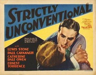 <i>Strictly Unconventional</i> 1930 film