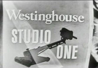 Studio One (U.S. TV series) - Westinghouse Studio One title card