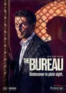 <i>The Bureau</i> (TV series) French espionage and political thriller TV series