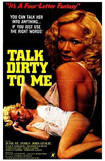 <i>Talk Dirty to Me</i> (film) 1980 film by Anthony Spinelli