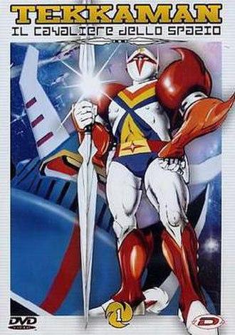 Tekkaman: The Space Knight - Italian DVD cover of Tekkaman The Space Knight.