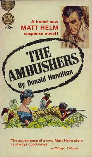 The Ambushers - Original 1963 paperback cover