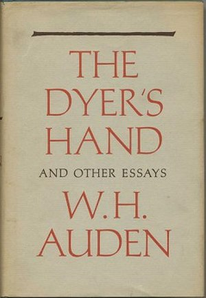 The Dyer's Hand - First edition (US)