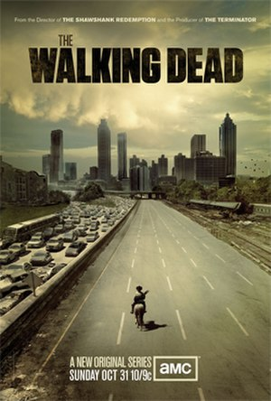 The Walking Dead (season 1) - Promotional poster and home media cover art