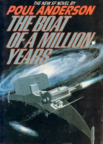 The Boat of a Million Years - Cover of first edition (hardcover)