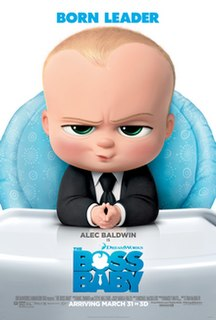<i>The Boss Baby</i> 2017 film directed by Tom McGrath
