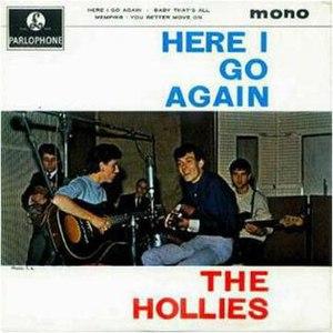 Here I Go Again (EP) - Image: The Hollies Here I Go EP