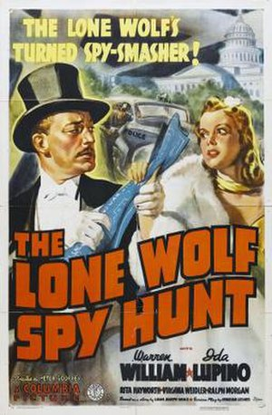 The Lone Wolf Spy Hunt - Theatrical release poster