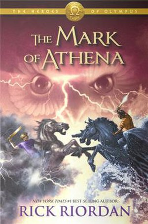 The Mark of Athena - First edition cover