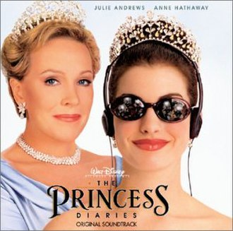 The Princess Diaries soundtracks - Image: The Princess Diaries Soundtrack 1