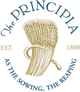 Principia College - Image: The Principia logo