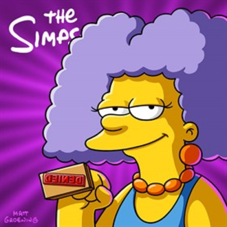 The Simpsons (season 27) - Digital purchase image featuring Selma Bouvier