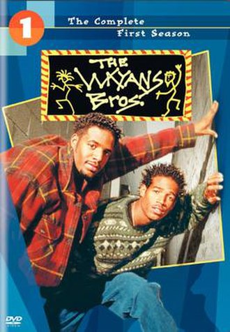 The Wayans Bros. - The first season DVD cover for The Wayans Bros.