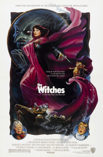 <i>The Witches</i> (1990 film) 1990 fantasy comedy film directed by Nicolas Roeg