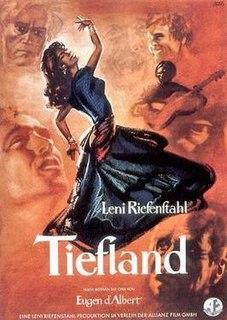 <i>Tiefland</i> (film) 1954 film by Leni Riefenstahl