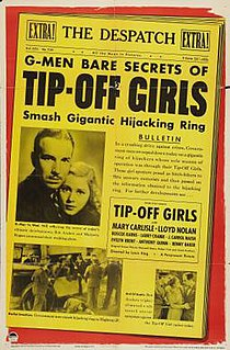<i>Tip-Off Girls</i> 1938 film by Louis King