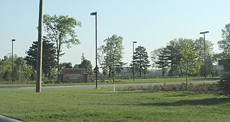 Toyota Motor North America - Toyota Engineering Center entrance in York Charter Township