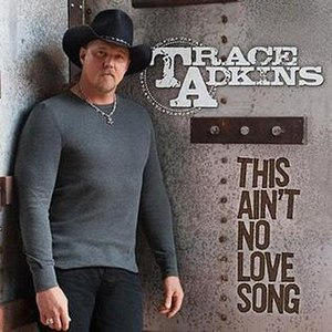 This Ain't No Love Song - Image: Trace TANLS single