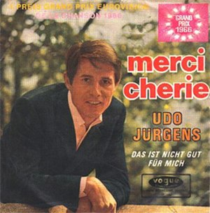 Merci, Chérie - Image: Udo Jürgens Merci, Chérie