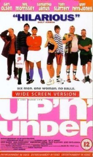 Up 'n' Under (film) - DVD cover