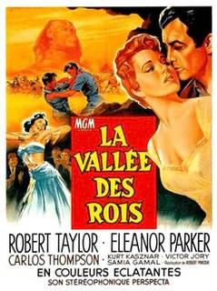 <i>Valley of the Kings</i> (film) 1954 film by Robert Pirosh