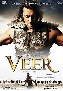 <i>Veer</i> (2010 film) 2010 Hindi historical action film directed by Anil Sharma