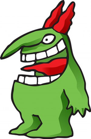 "Just for Laughs - ""Victor"", the Just for Laughs trademark mascot"