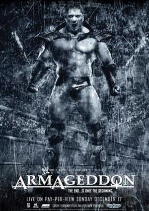 Armageddon (2006) - Promotional poster featuring Batista