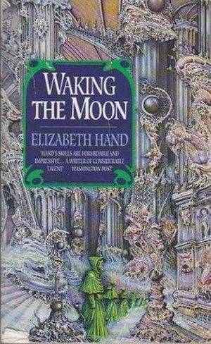 Waking the Moon - HarperCollins edition cover art.