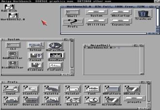 AmigaOS 4 - Amiga Workbench 2.0 (1990).