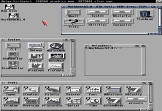 AmigaOS 4 - Amiga Workbench 2.0 (1990).