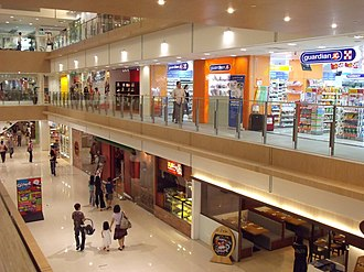 West Coast Plaza - The renovated mall offers a wider selection of shopping