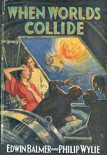 <i>When Worlds Collide</i> novel co-written by Philip Wylie and Edwin Balmer