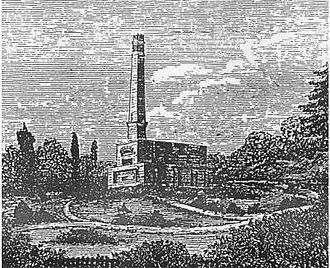 Cremation - The Woking Crematorium, built in 1878 as the first facility in England after a long campaign led by the Cremation Society of Great Britain.