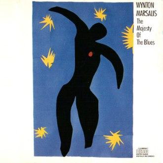 The Majesty of the Blues - Image: Wynton Marsalis The Majesty Of The Blues CD Front Cover