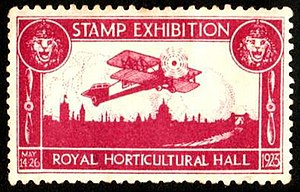 Philatelic exhibition - A souvenir stamp from a 1923 stamp exhibition