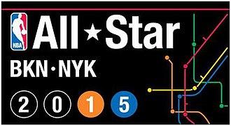 2015 NBA All-Star Game - Image: 2015 NBA All Star Game logo