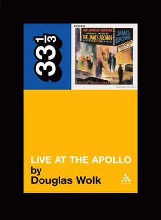 33⅓ - Cover of the Live at the Apollo book.