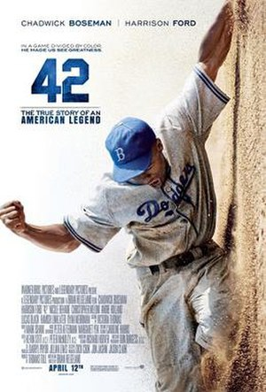 42 (film) - Theatrical release poster