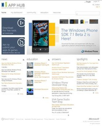 Windows Phone Store - AppHub