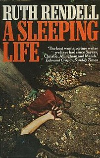 <i>A Sleeping Life</i> novel by Ruth Rendell