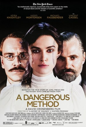 A Dangerous Method - Theatrical release poster