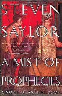 <i>A Mist of Prophecies</i> book by Steven Saylor