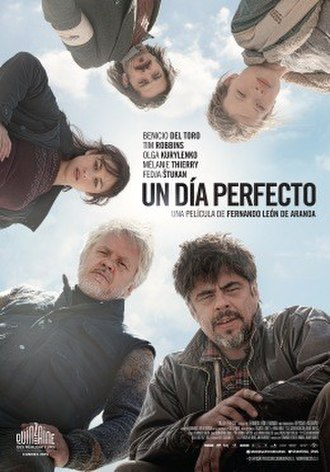 A Perfect Day (2015 film) - Theatrical release poster