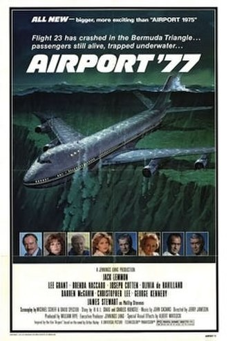 Airport '77 - Theatrical release poster
