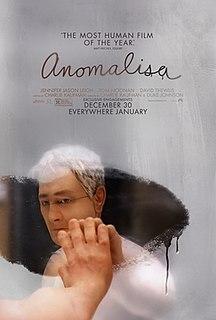 <i>Anomalisa</i> 2015 film by Charlie Kaufman and Duke Johnson